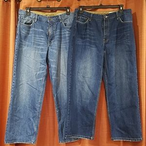 2 pair of Plugg Jeans size 36×30